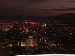 Las Vegas dalla Stratosphere Tower
