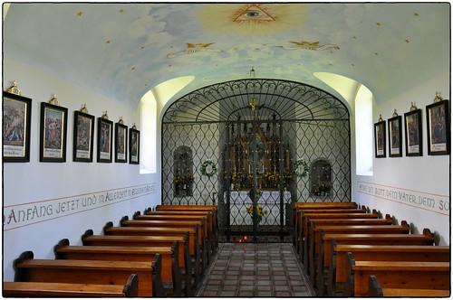 Altarraum der Gahbergkapelle