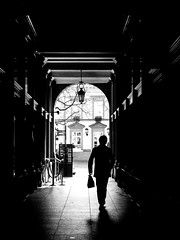 Shadows and lights (SibretManu) Tags: streetphotography luxembourg portrait street black white bw noir et blanc monochrome candid going moments decisive moment creative commons flickr flickriver explore eyed eye scene strassenfotografie fotografie city square squareformat photography bwartaward