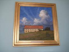 Eugène il peint des peintures
