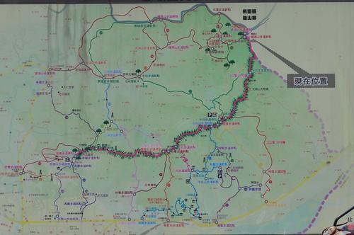 鶯歌地區步道地圖