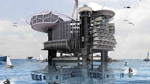 Oil Rig Platform Turned Hotel