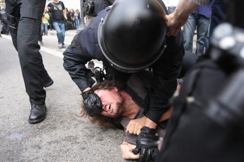 carga policial