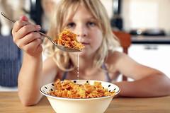 Breakfast. (David N. Sillitoe) Tags: breakfast cornflakes