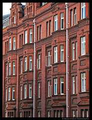 Windows and Brick (shutterBRI) Tags: old city uk travel windows red england streets building brick london canon vintage photography photo downtown unitedkingdom powershot capitol 2007 a630 shutterbri brianutesch flickrchallengegroup brianuteschphotography
