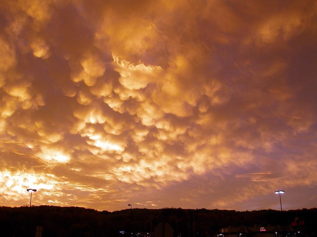 Strangest Sky I've Ever Seen