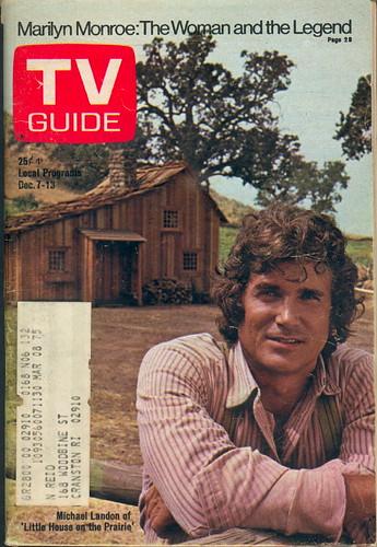Michael Landon en la casa de la pradera