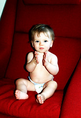 Makenna_10.5mos_ClappingRed