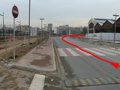 FORMULA 1 VALENCIA CIRCUITO GP EUROPA Linea de Meta