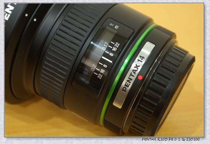 [分享]入手第一顆超廣角鏡 DA 14mm F2.8