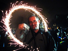David Sparkles (Pikaluk) Tags: firework sparkler november5th