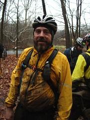 Muddy David at the DR Punk Bike Enduro