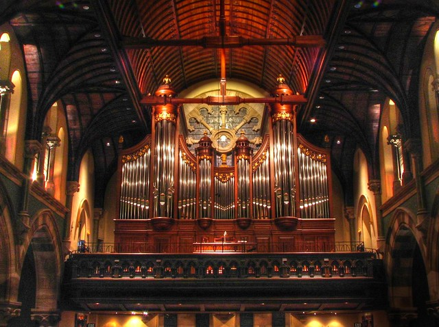 Christ Church Cathedral Pipe Organ - Nashville