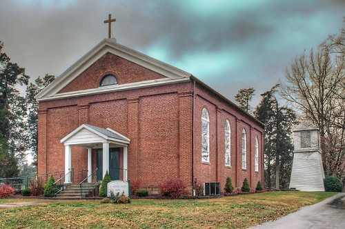 Saint Patrick Roman Catholic Church, in Ruma, Illinois, USA - exterior.jpg