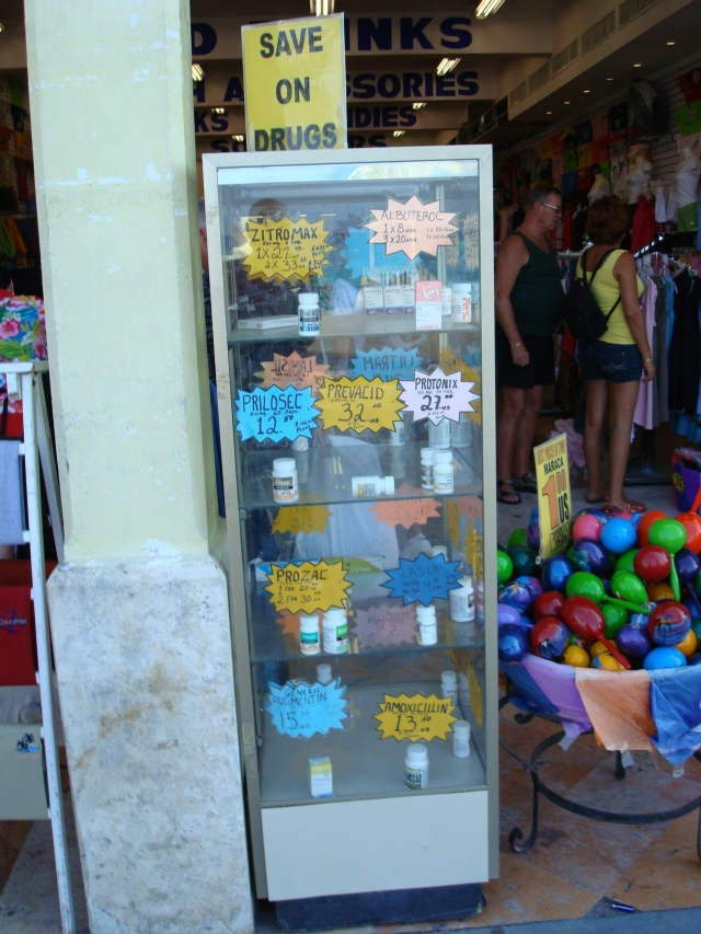 12182007 OTC prescription drugs for sale in Cozumel
