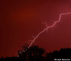 red lightning (frank maiello) Tags: city sky storm electric bulb nikon long exposure tag colorized jersey electricity handheld lightning d200 maiello frankmaiello