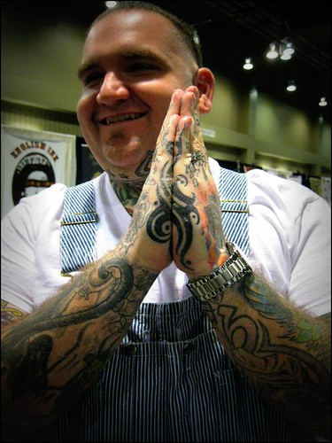 Bubba's Tribal Hand Tattoo by HeadOvMetal. From HeadOvMetal