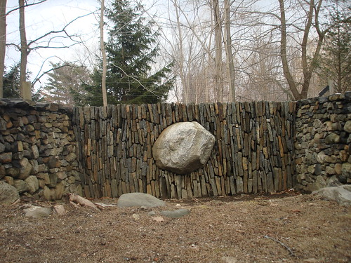 andy goldsworthy, Bedford, NY This i