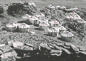 Premier campement Sépis à Fort GOURAUD