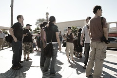 Some of the photowalkers (Bryan Villarin) Tags: california people woman man male men female women photographers lajolla photowalk canoneosdigitalrebel johnwatson photowalking canonefs1855mmf3556 jeanma ryangoodman davidfleason brianauer photowalking020908 jasminechow upcoming:event=414505