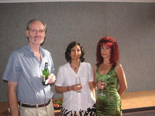 Peter Walton, Jayshree Mamtora, Marion Farram