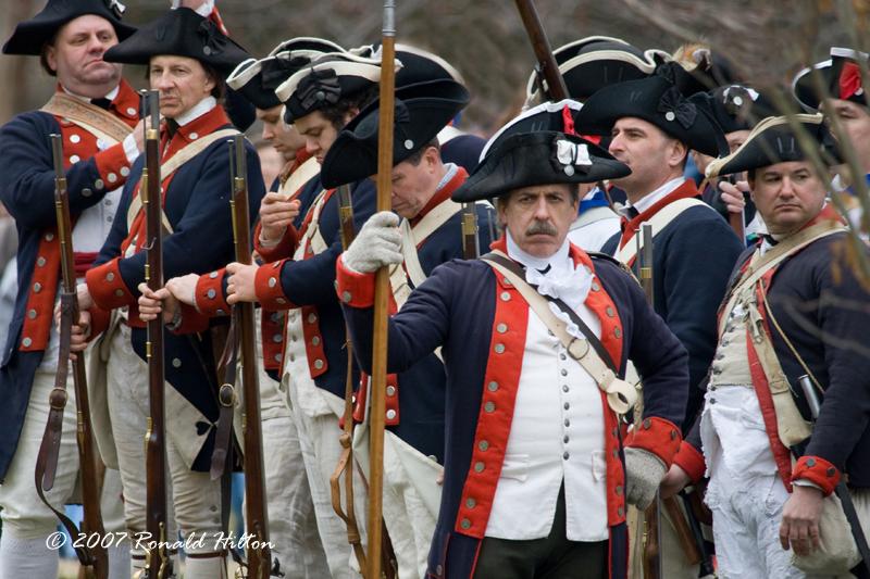 American Revolutionary War Reenactors -- People in