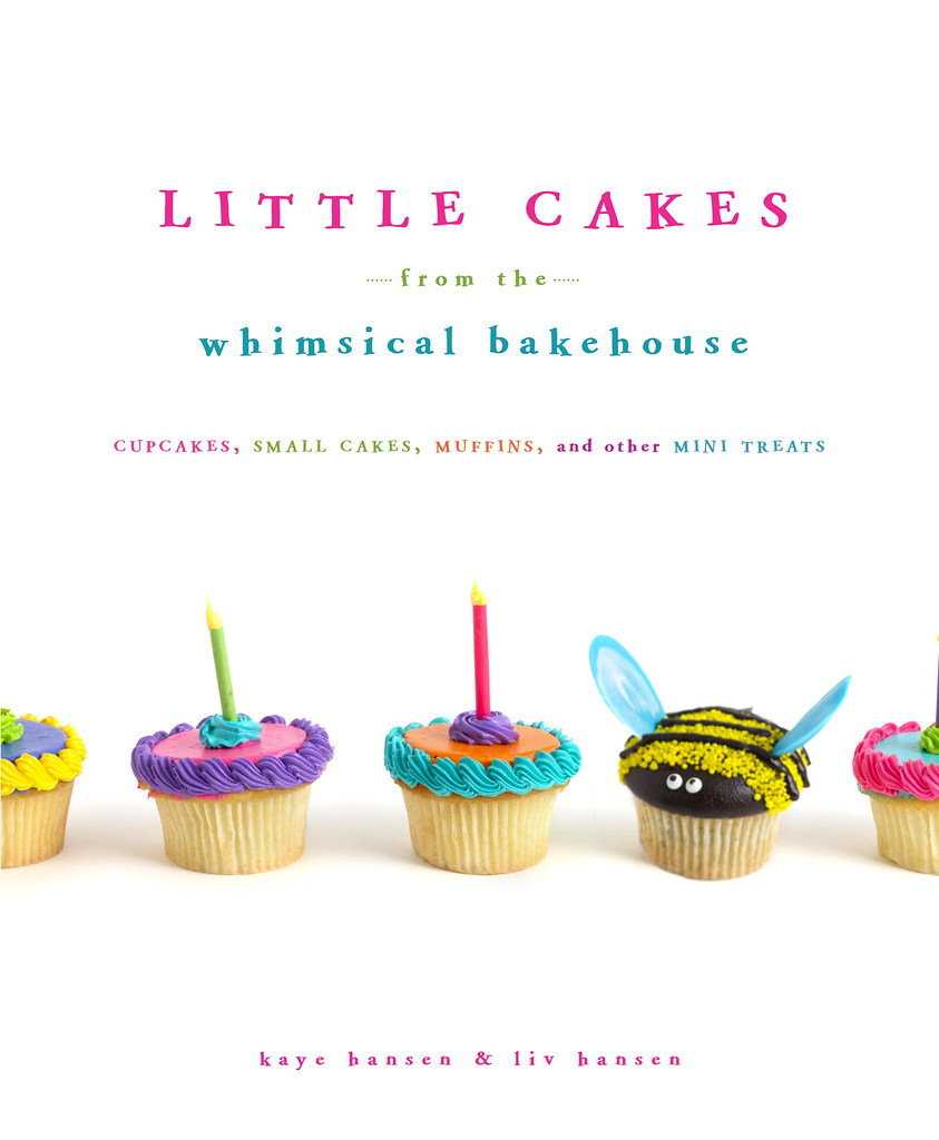 Book cover: Little Cakes from the Whimsical Bakehouse