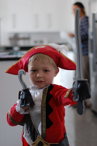 Harry as a pirate
