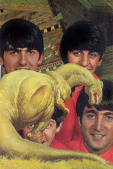 jurrasicbeatles (bezembinder) Tags: collage beatles bezembinder