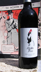 Wine Label for Stella Fino Winery in Walla Walla, Washington (Octavine Illustration) Tags: 1920s art oregon portland 1930s wine handmade label www artnouveau artdeco etsy 1910s commission wallawalla winelabel belleepoque octavineillustration carabuchalter washingtonwinery