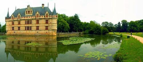 Azay-le-Rideau, valle del Loira, Francia