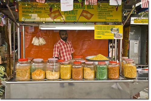 Peanut stall- Penang Hill