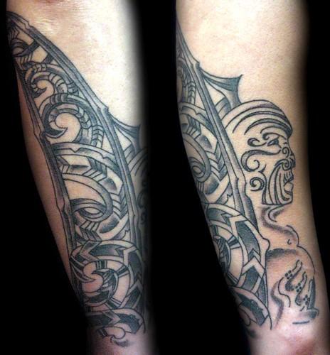 maori tattoo gallery. maori tattoo Granada
