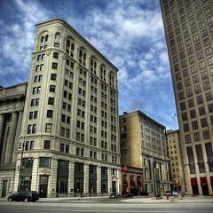 Downtown Winnipeg After 5pm (bryanscott) Tags: architecture downtown winnipeg district exchange hdr