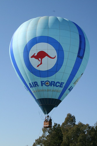 Australian airforce balloon