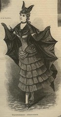 1880s bat costume (lisaswehla) Tags: abigail bustle bats batwings bathat battie halloweenbat batcostume batdress bustlegown batgown