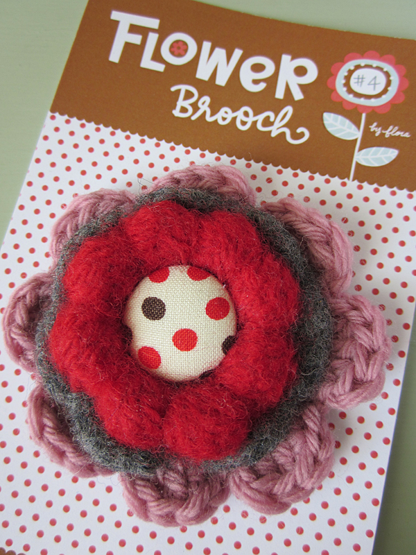 Flower Brooch #4
