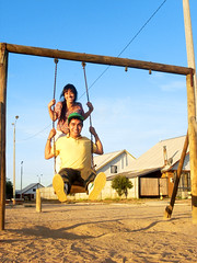 Historia Sin Fin  (Marcos Andrs Roco Morales) Tags: chile plaza love amor carli 2010 columpio talca teamo odioso historiadeamor historiasinfin xodioso shodioso carlifernanda carlifer