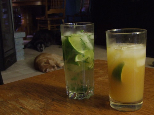 The Mojito and The Black Eyed Susan