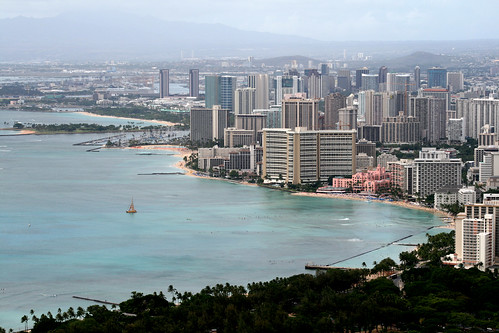 the view from diamond head -- oct 6