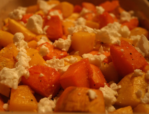 Pumpkin Sweet Potato Feta