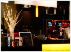 Bartender - Intelligentsia, Chicago, Illinois, USA (fl0yd/hyp0th3rmi4) Tags: usa chicago bar illinois cy orton intelligentsia challengeyouwinner cywinner selectiveorton