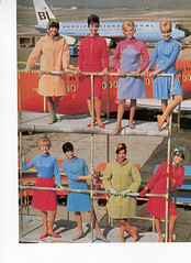 "Pucci ""Gemini"" collection for Braniff International, 1965 (baldpipeguy) Tags:"