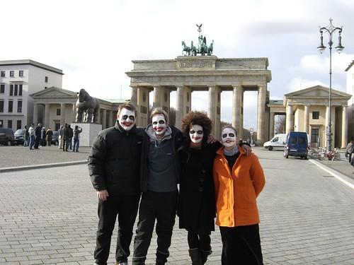 The Brandenburger Gate is ready for Joker