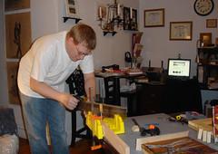 Luke - in our Workshop -
