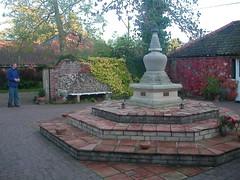Stupa courtyard 6