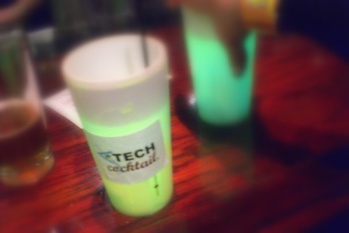 TECH cocktail Chicago 6 Glowing Cups