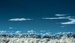 from my window - infrared (sausyn) Tags: blue panorama white mountains montagne landscape ir blu infrared bianco filtro bollate senago infrarosso infrarossi