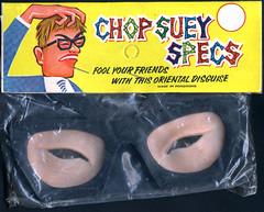 asian glasses novelty devo gag oriental offensive racist