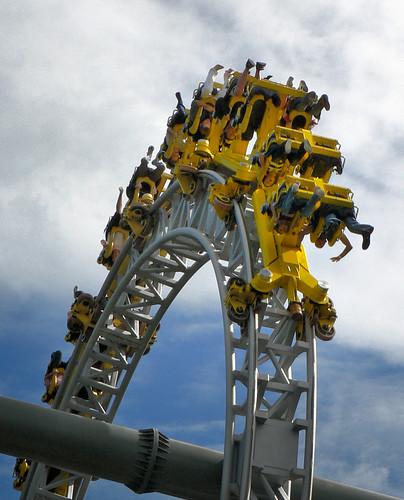 amusementpark rollercoaster tornado tampere särkänniemi